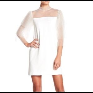 Gracia white cocktail dress
